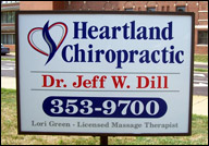 Heartland Chiropractic Located at 1340 Park Ave. Pekin IL 61554 Chiropractor, Dr. Jeffrey Dill